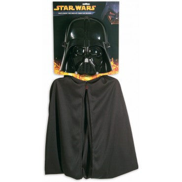 Boys Star Wars Darth Vader Cape/Mask Set - HalloweenCostumes4U.com - Kids Costumes