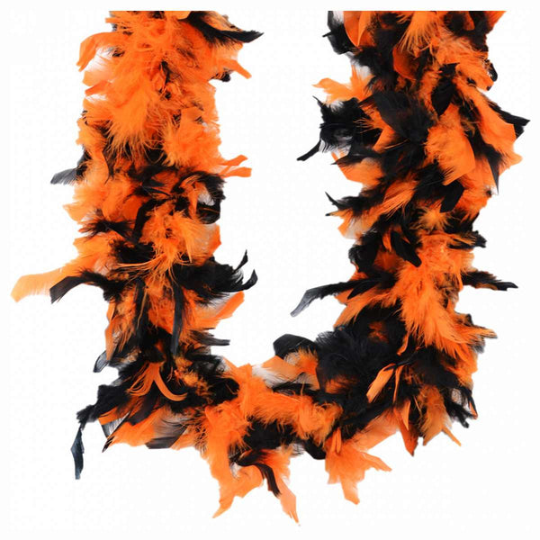 Two Tone Feather Boa - Various Colors - HalloweenCostumes4U.com - Accessories - 1