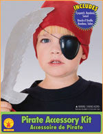 Kids Pirate Accessory Kit - HalloweenCostumes4U.com - Accessories