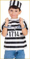 Boys Prisoner Costume Kit - HalloweenCostumes4U.com - Kids Costumes