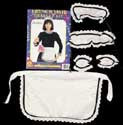 French Maid Accessory Kit - HalloweenCostumes4U.com - Accessories