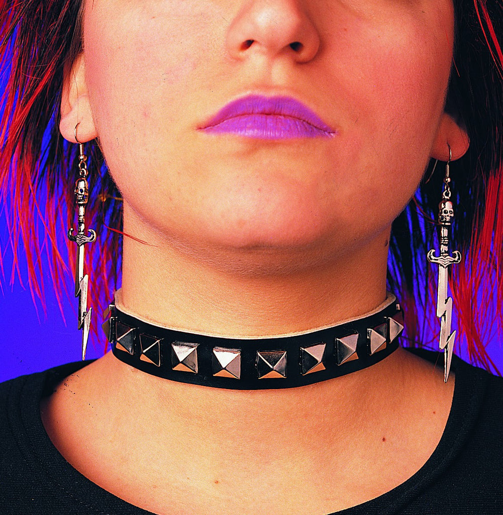 Womens Studded Choker - HalloweenCostumes4U.com - Accessories