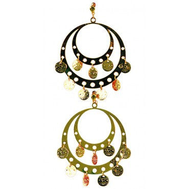 Gypsy Earrings - HalloweenCostumes4U.com - Accessories