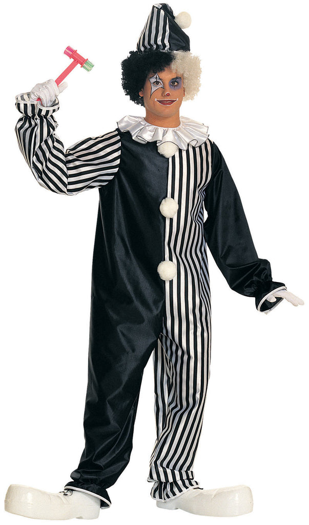 Adults Harlequin Clown Costume