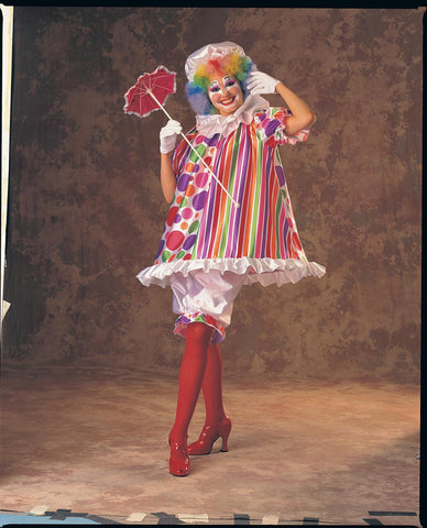 Womens Betty Brite Clown Costume - HalloweenCostumes4U.com - Adult Costumes