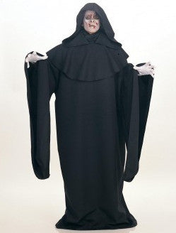 Deluxe Full Cut Black Robe - HalloweenCostumes4U.com - Adult Costumes