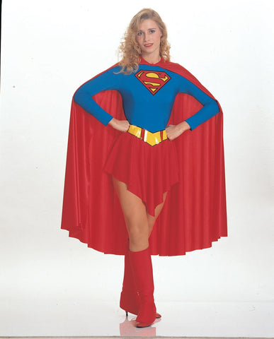 Womens Classic Supergirl Costume - HalloweenCostumes4U.com - Adult Costumes