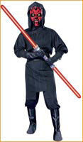 Mens Star Wars Darth Maul Costume - HalloweenCostumes4U.com - Adult Costumes