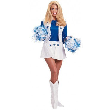 Womens Dallas Cowboys Cheerleader Costume - HalloweenCostumes4U.com - Adult Costumes