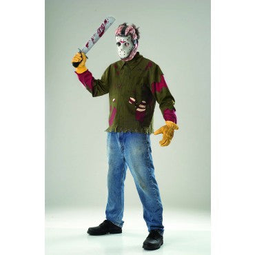 Mens Friday the 13th Jason Voorhees Costume - HalloweenCostumes4U.com - Adult Costumes