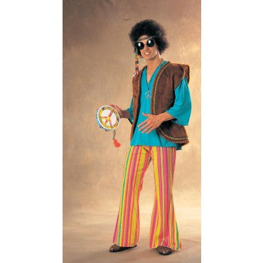 Mens John Q. Woodstock Hippie Adults - HalloweenCostumes4U.com - Adult Costumes
