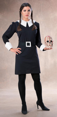 Womens Addams Family Wednesday Costume - HalloweenCostumes4U.com - Adult Costumes