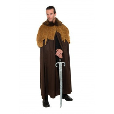Mens Medieval Warrior Cloak - HalloweenCostumes4U.com - Adult Costumes