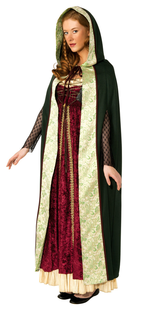 Adults Green Camelot Cape - HalloweenCostumes4U.com - Accessories