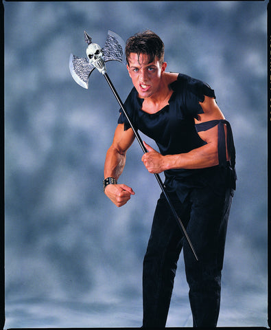 Skull Warrior Axe - HalloweenCostumes4U.com - Accessories