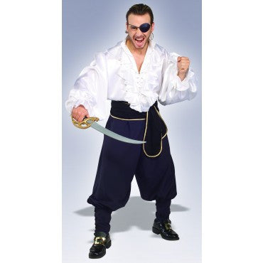 Mens Swashbuckler Pirate Costume - HalloweenCostumes4U.com - Adult Costumes