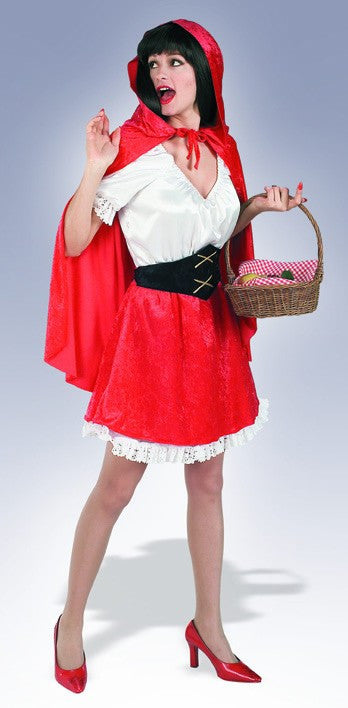 Womens Little Red Riding Hood Costume - HalloweenCostumes4U.com - Adult Costumes
