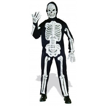 Mens Skeleton Costume - HalloweenCostumes4U.com - Adult Costumes