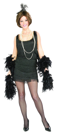 Womens/Teens Black Chicago Flapper Costume - HalloweenCostumes4U.com - Adult Costumes