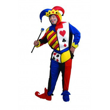 Mens Playing Card Joker Costume - HalloweenCostumes4U.com - Adult Costumes