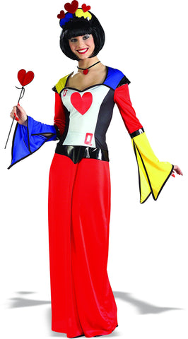 Teens/Womens Queen of Hearts Costume - HalloweenCostumes4U.com - Adult Costumes