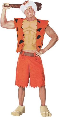 Mens Teens Flintstones Bamm Bamm Costume