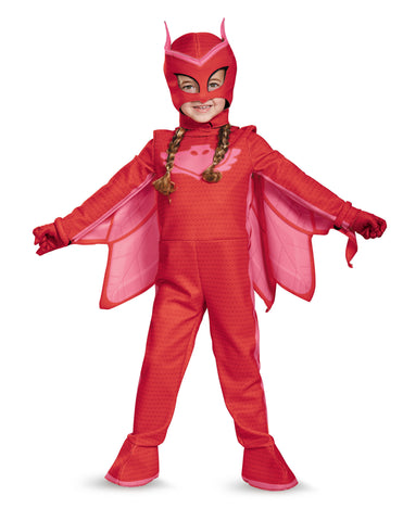 Girls PJ Masks Deluxe Owlette Costume - HalloweenCostumes4U.com - Kids Costumes - 1