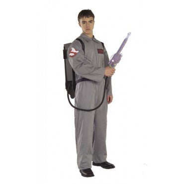 Mens Plus Size Ghostbusters Costume - HalloweenCostumes4U.com - Adult Costumes