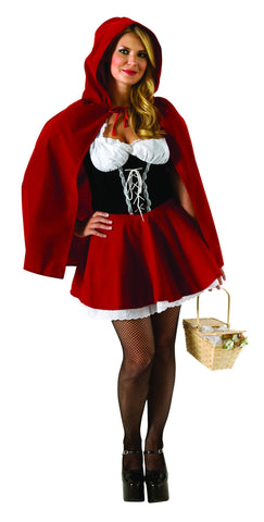 Womens Plus Size Red Riding Hood Costume - HalloweenCostumes4U.com - Adult Costumes