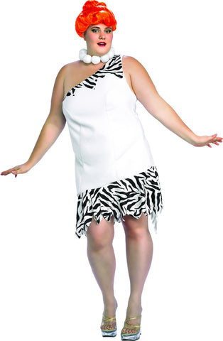 Womens Plus Size Flintstones Wilma Costume - HalloweenCostumes4U.com - Adult Costumes