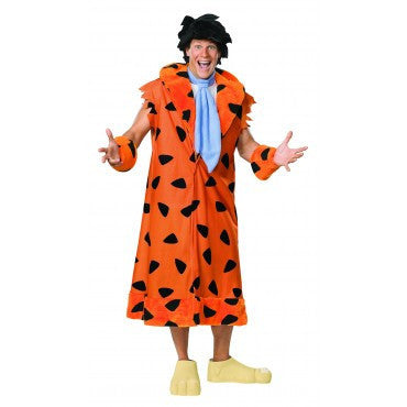 Mens Plus Size Flintstones Fred Costume - HalloweenCostumes4U.com - Adult Costumes