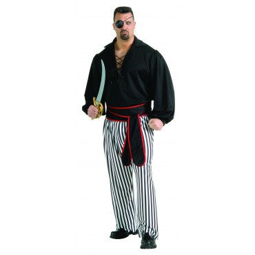 Mens Plus Size Buccaneer Costume - HalloweenCostumes4U.com - Adult Costumes