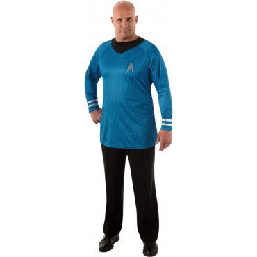 Mens Plus Size Star Trek Deluxe Spock Costume - HalloweenCostumes4U.com - Adult Costumes