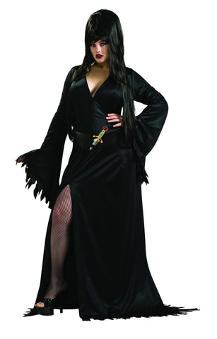 Womens Plus Size Elvira Costume - HalloweenCostumes4U.com - Adult Costumes