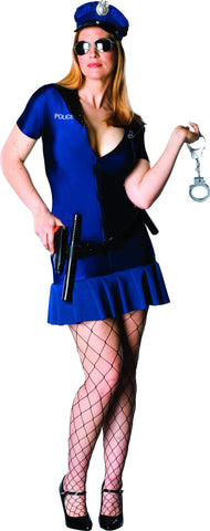 Womens Plus Size Officer Frisky Costume - HalloweenCostumes4U.com - Adult Costumes