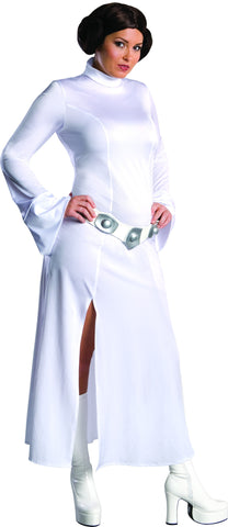 Womens Plus Size Star Wars Princess Leia Costume - HalloweenCostumes4U.com - Adult Costumes