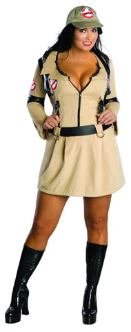 Womens Plus Size Ghostbuster Costume - HalloweenCostumes4U.com - Adult Costumes