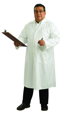 Adults Plus Size Lab Coat - HalloweenCostumes4U.com - Adult Costumes
