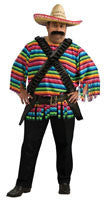 Mens Plus Size Mexican Hombre Costume - HalloweenCostumes4U.com - Adult Costumes