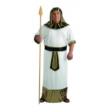 Mens Plus Size Egyptian Pharaoh Costume - HalloweenCostumes4U.com - Adult Costumes
