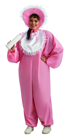 Womens Plus Size Baby Girl Costume - HalloweenCostumes4U.com - Adult Costumes