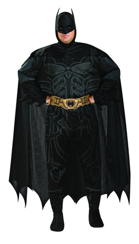 Mens Plus Size Batman Costume - HalloweenCostumes4U.com - Adult Costumes