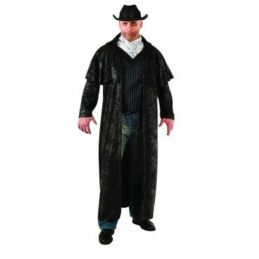 Mens Plus Size Gunslinger Cowboy Costume - HalloweenCostumes4U.com - Adult Costumes