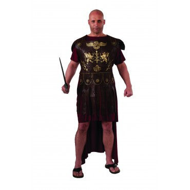 Mens Plus Size Roman Gladiator Costume - HalloweenCostumes4U.com - Adult Costumes