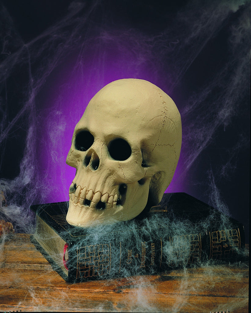Skull Table Decoration - HalloweenCostumes4U.com - Decorations