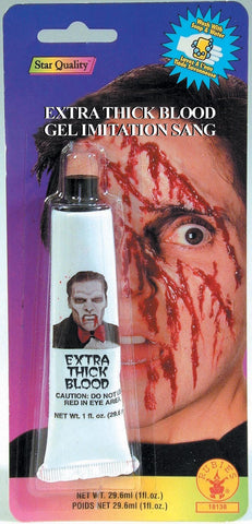 Extra Thick Blood Gel - HalloweenCostumes4U.com - Accessories