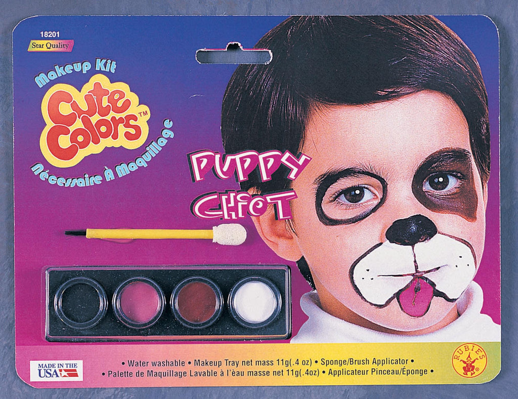Puppy Dog Makeup Kit - HalloweenCostumes4U.com - Accessories