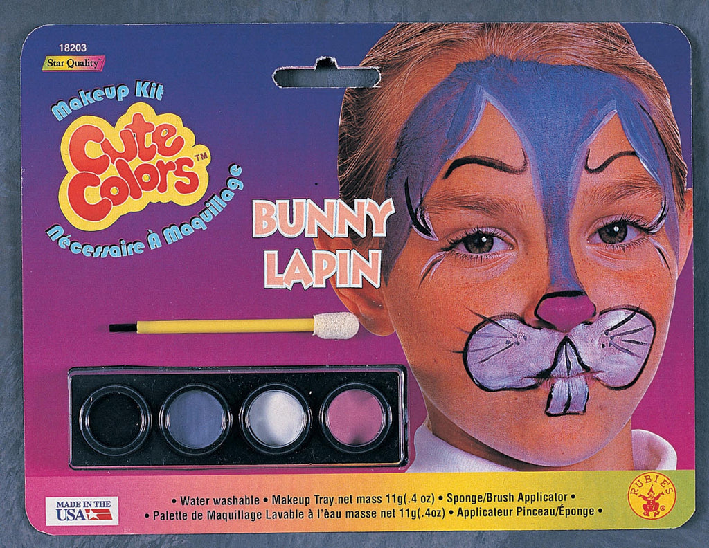 Bunny Rabbit Makeup Kit - HalloweenCostumes4U.com - Accessories