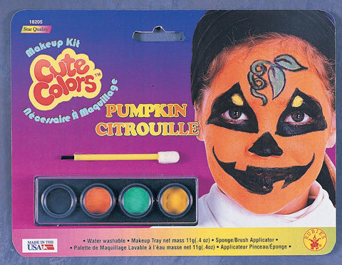 Pumpkin Makeup Kit - HalloweenCostumes4U.com - Accessories