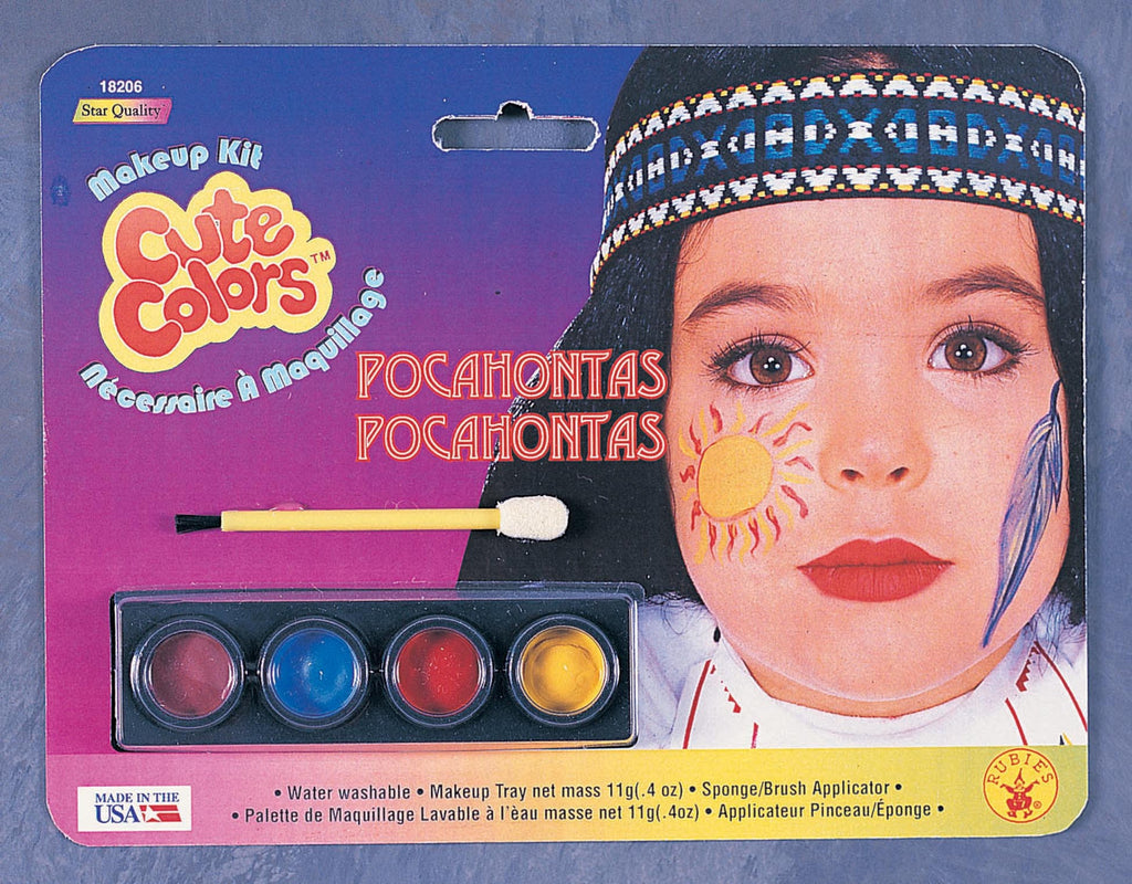 Native American Makeup Kit Halloween Costumes 4u Accessories
